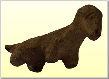 """""""A kultikus juhszobrocska az istenek előtt bemutatott szimbolikus állatáldozat, melynek mélylélektani gyökerei a kollektív tudatalattiban keresendők. Globalizálódó kultúránk temetkezési szokásaiban ma is megfigyelhetők e szakrális motívumok."""" (kobzosBBL)"""