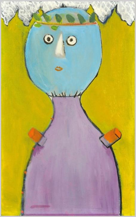 """""""A környezet és az alkotó közötti szakadás következtében a festő nem is törekszik többé a valóság illúziójára. Maga szerkeszt vagy álmodik igazabb, őt megértő valóságot, a kétségbeejtően bonyolult és torz emlékekkel terhes helyett."""" (S. Nagy Katalin)"""