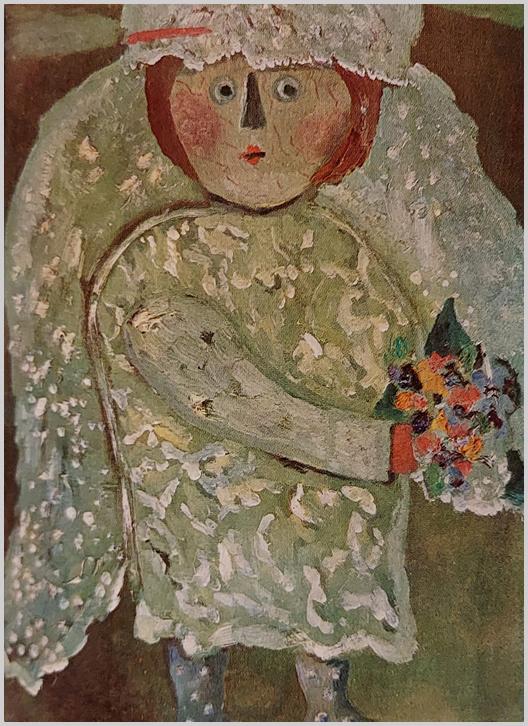 """""""Ha elvonatkoztatunk a formától, a virág jelentésétől, s csupán a dekoratív foltok összefüggéseit tekintjük, arra a megdöbbentő felfedezésre bukkanunk, hogy Anna Margit alkotói módszerében közel áll a kalligrafikus festőkhöz."""" (S. Nagy Katalin)"""